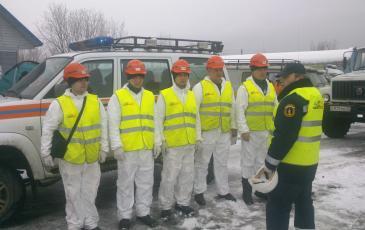 Астраханский отряд «ЭКОСПАС» получает задание