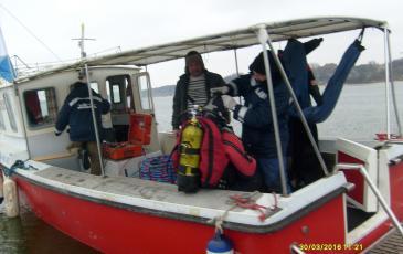 Подготовка водолазного снаряжения