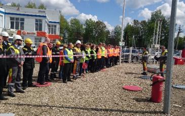 ЦАСО «ЭКОСПАС» принял участие в учениях АТК-2 «Наро-Фоминск» АО «РН-Москва»