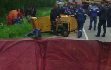 Спасатели «ЭКОСПАС» развернули ёмкости временного хранения