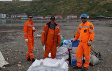 Спасатели «ЭКОСПАС» приняли участие в волонтёрской акции