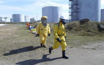 Разведка состояния атмосферы и взрывоопасной среды