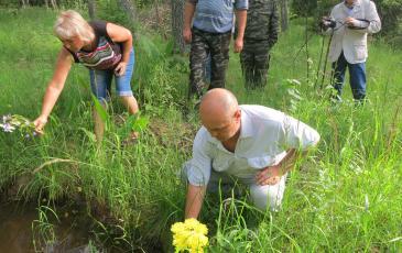 Родственники почтили память погибших родных и возложили цветы