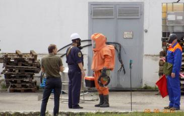 Доклад командиру отряда о проделанных мероприятиях газоспасательной группой