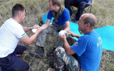 Первая помощь пострадавшему при повреждении кистей рук