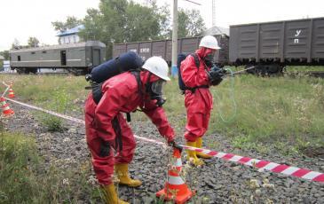 Измерение газоанализатором ПДК в зоне ЧС