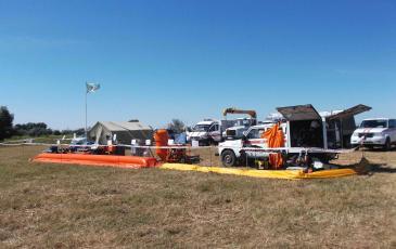 Демонстрация оборудования, имущества и техники «ЭКОСПАС»