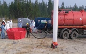 Организация работы вакуумного автомобиля на объекте ООО «Пурнефтегаз»