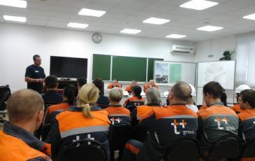 Подведение итогов учений с персоналом Самарской ТЭЦ ПАО «Т-Плюс»