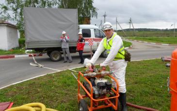 Подготовка оборудования к работе на объекте ООО «Лукойл-Волганефтепродукт»