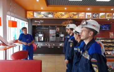 Инструктаж по технике безопасности на объекте АО «Газпромнефть-Северо-Запад»