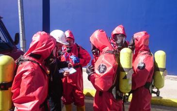 Включение спасателей в ДА и запись в журнале давления в балонах ДА