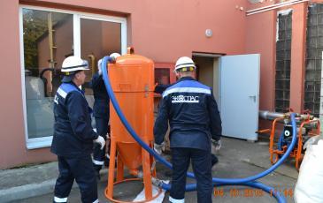 Подготовка оборудования ЛАРН к работе на объекте ООО «Зеленоградские тепловые сети»