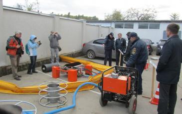 Демонстрация оборудования ЛАРН на акватории