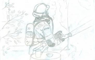 Рисунок Максима Миронова