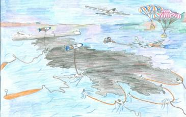 Рисунок Никиты Мощнева