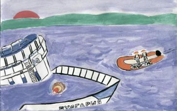 Рисунок Далгата Абдурахманова