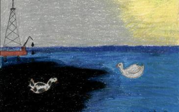 Рисунок Насти Дребезговой