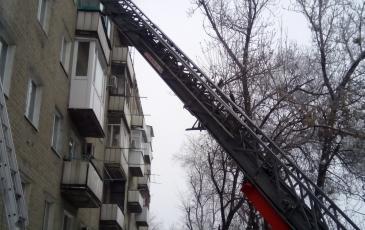 Эвакуация жителей дома