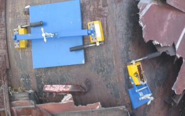 Установка магнитного герметизирующего устройства