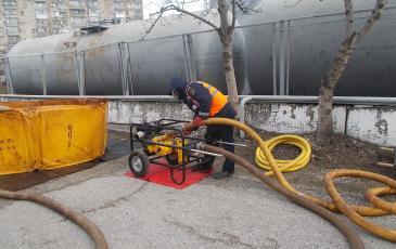Запуск нефтеперекачивающей системы