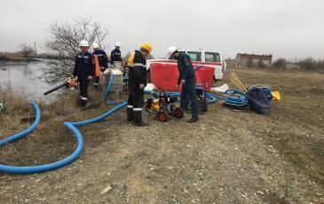 Ликвидация условно аварийного разлива нефтепродукта