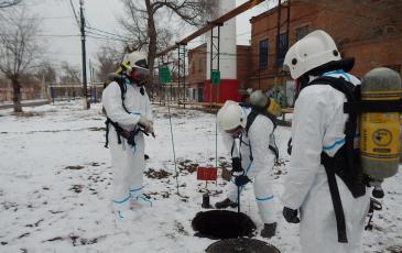 отключение газоснабжения котельной закрытием запорной арматуры