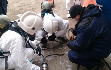 Подключение гидравлического аварийно-спасательного инструмента