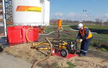 Старт нефтеперекачивающей установки