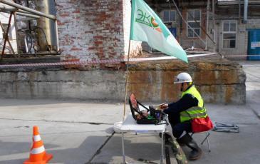 Работа газоспасательной базы