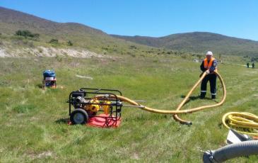 Развёртывание нефтеперекачивающего устройства