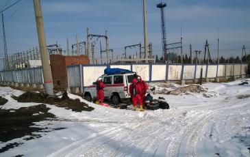 Подготовка к работе газоспасательного звена