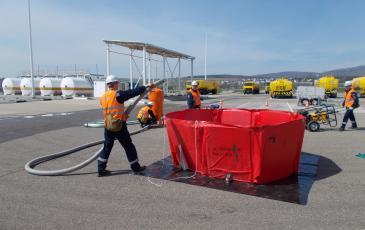 Развертывание оборудования, аэропорт г. Геленджик