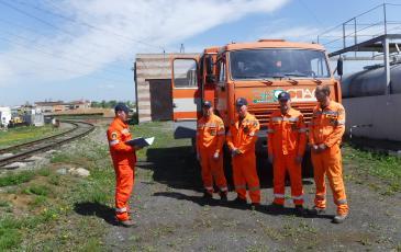 Инструктаж спасателей Приморского центра «ЭКОСПАС»