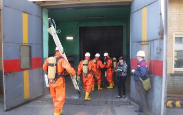 Спасатели Приморского центра «ЭКОСПАС» приступили к разведке условной зоны ЧС