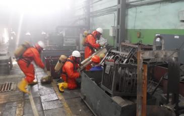 Спасатели Приморского центра «ЭКОСПАС» приступили к оказанию помощи условному пострадавшему