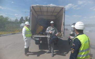 Подготовка газоспасательной группы на объекте АО «РН-Москва»