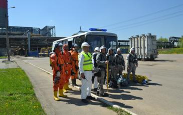 Построение газоспасательного звена на ТЭЦ-25