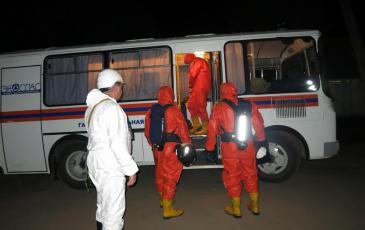 Подготовка газоспасательной группы к выезду на место ЧС