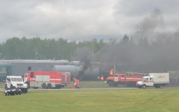 Прибытие аварийно-спасательной группы ЦАСО «ЭКОСПАС» - филиал АО «ЦАСЭО»