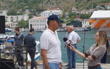 Интервью Первого Севастопольского ТВ с руководителем Крымского подразделения