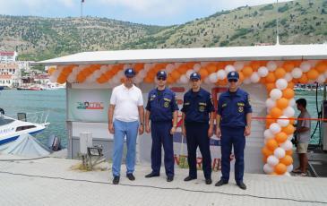 Сотрудники Крымского территориального подразделения
