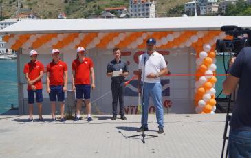 Выступление на открытии руководителя Крымского подразделения