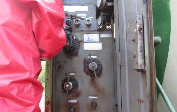Подтягивание вентиля испарителя на четверть оборота