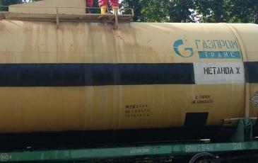 Спасатели ПАСФ «ЭКОСПАС» определяют способы устранения течи