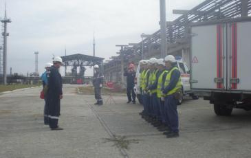 Начальник Самарского центра ПАСФ «ЭКОСПАС» ставит задачу на размещение оборудование ЛАРН