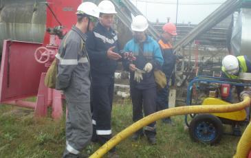 Начальник Самарского центра ПАСФ «ЭКОСПАС» разъясняет действия спасателей и порядок работы оборудования ЛАРН