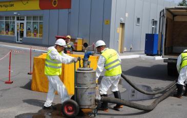Подключение нефтесборочной установки