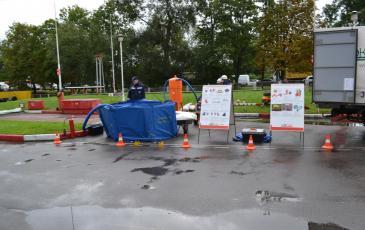 Подготовка вакуумного нефтесборного устройства ВНУ-1
