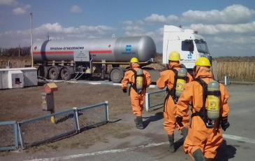Проведение газоразведки